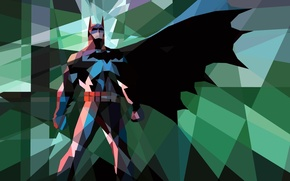 Picture mosaic, batman, Batman, mosaic