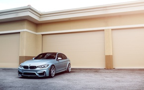 Picture BMW, Car, Front, Sport, Silver, F80