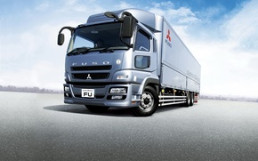 Picture truck, Mitsubishi, Time