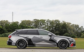 Picture Audi, Side, Tuning, RS6, Audi RS6, Audi Tuning, Schmidt Revolution, Schmidt Revolution Audi RS6