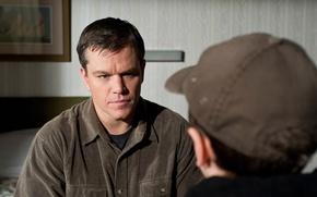 Picture Matt Damon, Matt Damon, Hereafter, Before and after