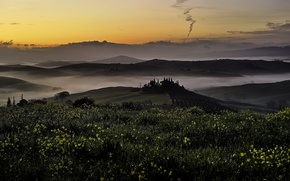 Picture Italy, Tuscany, San Quirico d'orcia, Farmhouse Belvedere