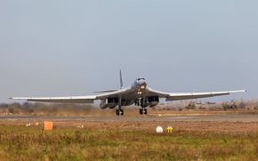 Picture bomber, strategic, The Tu-160, Engels, Airbase
