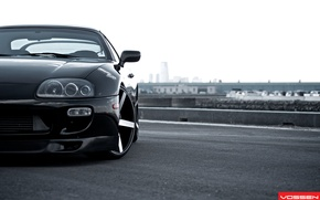 Picture tuning, Toyota, drives, Supra, wheel, vossen, Supra