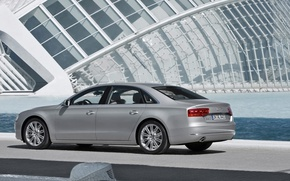 Picture Audi, sedan, A8