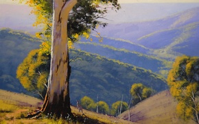 Picture ART, FIGURE, ARTSAUS, SUMMER HILLS