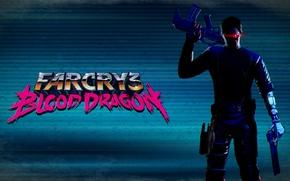 Picture eyes, gun, machine, far cry 3 blood dragon, cyber hand