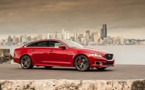 Picture Jaguar, red, XJR