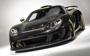 Picture black, gts, porche, carerra, mirage, sports car, metal flake, Porche Carrera Mirage GTS