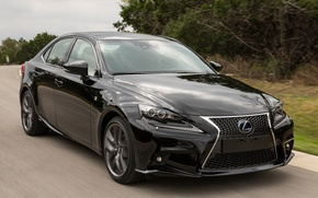 Picture car, Lexus, road, speed, F-Sport, IS 300h