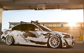 Picture bmw, camouflage