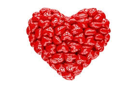 Picture heart, red, love, heart