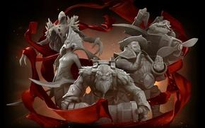 Picture red, storm, Red, Dota 2, Dota2, camera, Naked, Dota, Naga, The International, shaker, Storm spirit, …