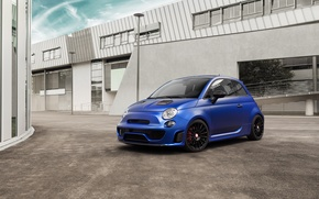 Picture 500, Fiat, Fiat, Abarth, 2015, Pogea Racing, Blue Wonder