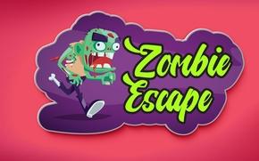 Picture figure, zombies, zombie, escape, sticker, sticker, csgo, pink background, plague, magnet, Merck of sambara