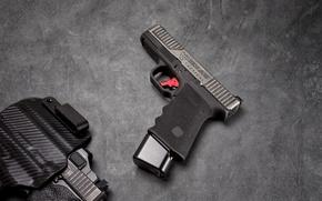 Wallpaper gun, background, AXE19