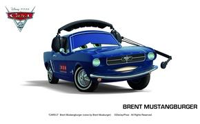 Picture pixar, cars, cars 2, cars 2, brent mustangburger