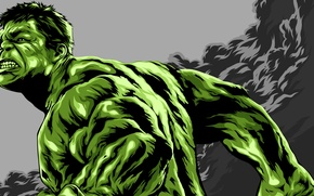 Picture green, Hulk, Hulk, MARVEL