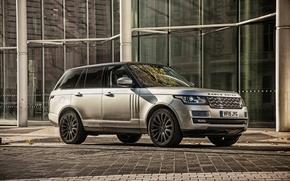 Wallpaper Land Rover, Range Rover, range Rover, land Rover, SVAutobiography