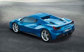 Picture Ferrari, Ferrari, Spider, 488, With The Top