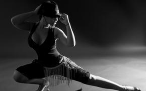 Picture tango, hat, dance, pose