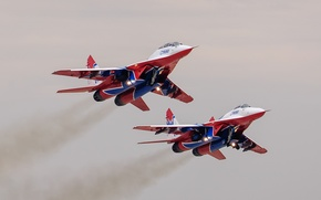 Picture fighters, pair, MiG-29, The MiG-29
