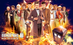 Picture look, smile, fiction, face, the series, actors, Doctor Who, men, Doctor Who, The TARDIS, BBC, …