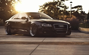 Picture car, audi, stance, hq Wallpapers