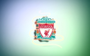 Picture football, coat of arms, liverpool