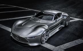 Picture Mercedes-Benz, supercar, Gran Turismo, Concept 2013, AMG Vision