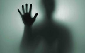 Wallpaper hand, stranger, shadow