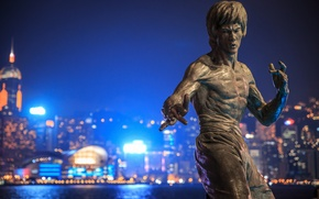 Picture monument, Bruce Lee, Bruce Lee, Hong Kong