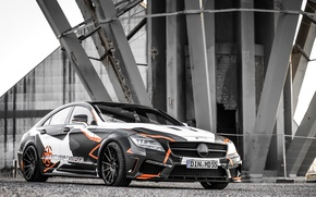 Picture Mercedes-Benz, tuning, CLS 500, M&D Exclusive Cardesign, Black Edition Stealth