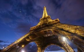 Picture the city, Eiffel tower, Paris, architecture, France, Under the Eiffel