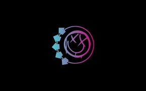 Picture pink, minimalism, Blink 182