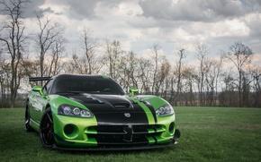 Picture Dodge, Viper, Green, ACR