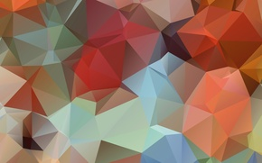 Picture line, Wallpaper, color, angle, geometry, the volume, figure, face, triangle