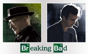 Picture the series, actors, characters, Breaking Bad, breaking bad, Bryan Cranston, Walter White, Jesse Pinkman, Aaron …