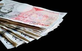 Wallpaper money, paper, ink, British pounds
