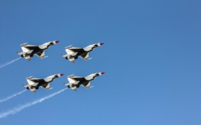 Picture aircraft, Thunderbirds, Air Fest