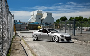 Picture Subaru, White, BRZ, Wheels, Factory