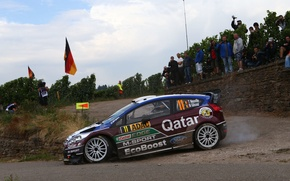 Picture Ford, Turn, Ford, WRC, Rally, Rally, Fiesta, Neuville