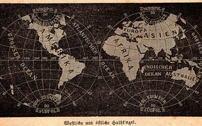 Picture world, earth, vintage, old, geographic, textures, map, paper, globe, old map, black paper