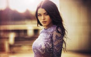 Picture look, portrait, bokeh, Karen Abramyan