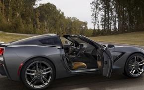 Picture coupe, supercar, chevrolet corvette