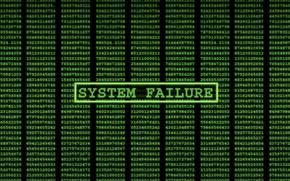 Picture The Matrix, system, failure