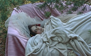 Picture girl, fantasy, art, Agnieszka Lorek, Homelessness of feelings, Anna Maria