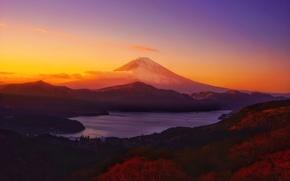 Picture Clouds, Sky, Landscape, Sun, Mountain, Sunset