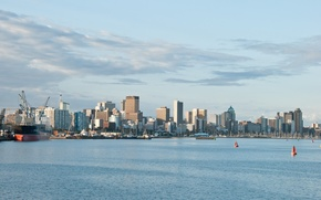 Picture The city, port, Durban