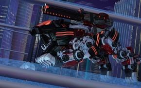 Picture gun, robot, zoids, liger, zoid